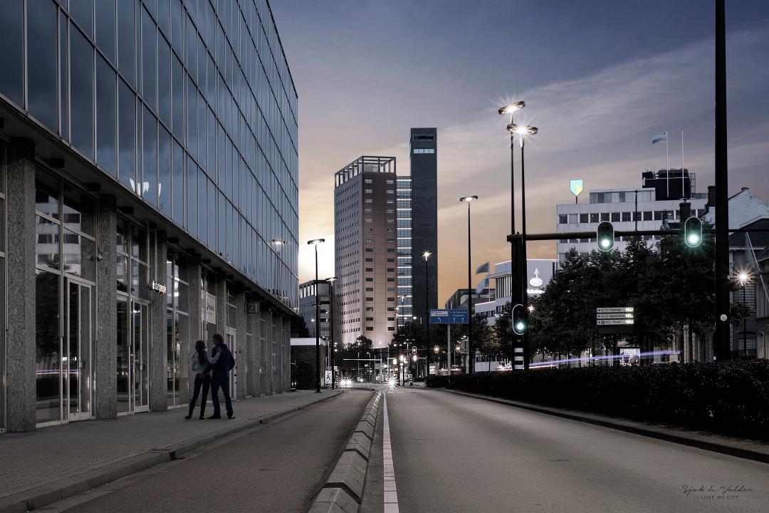 Interpolis hoofdkantoor night