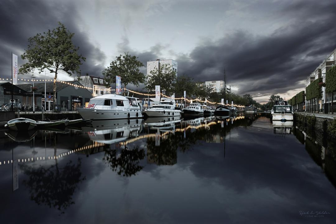 Piushaven de haven