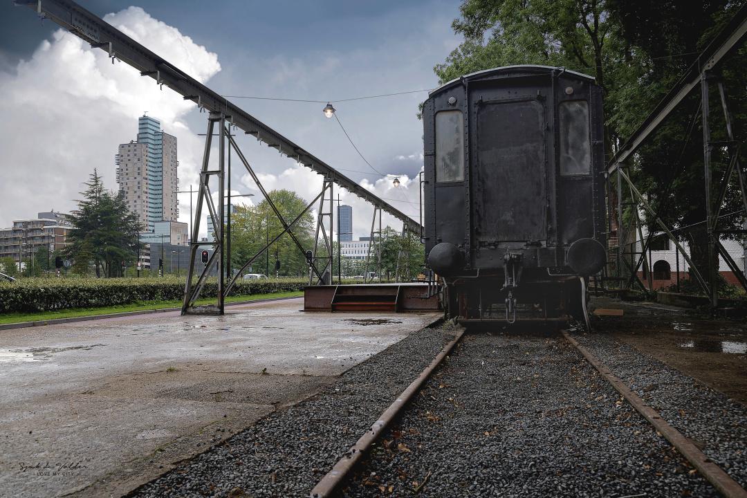 Spoorzone de Wagon