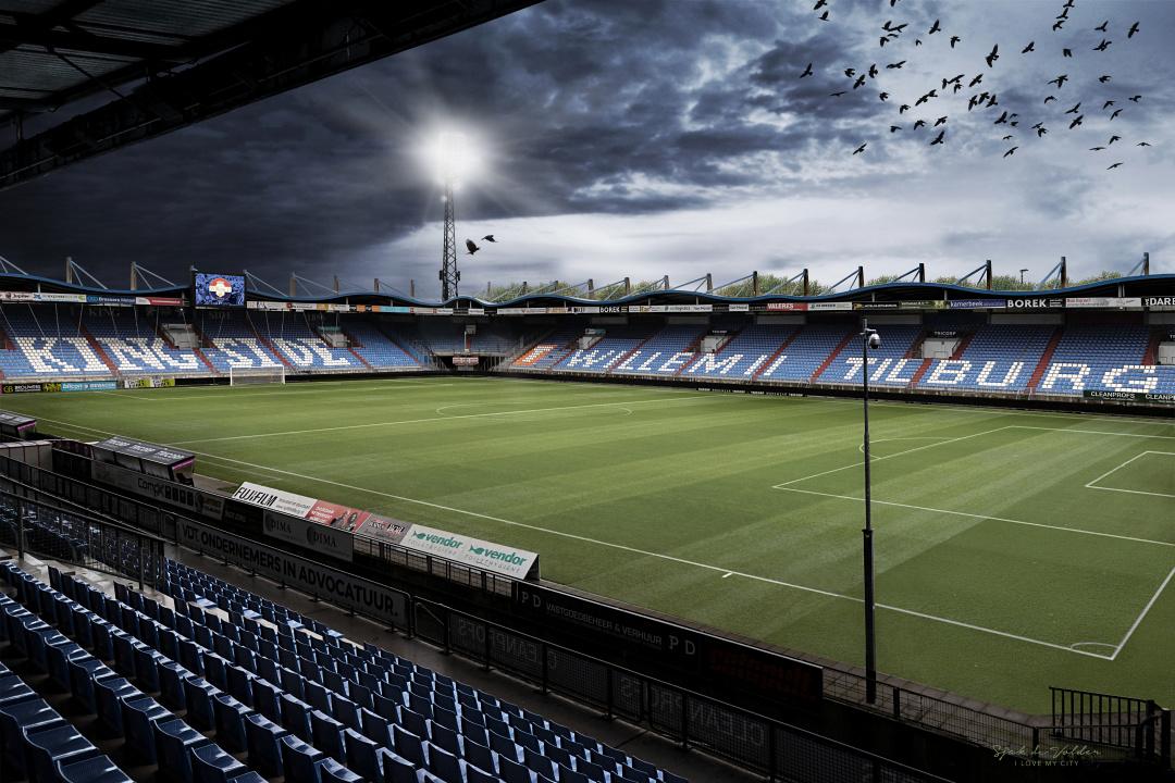 Willem II Stadion in het stadion