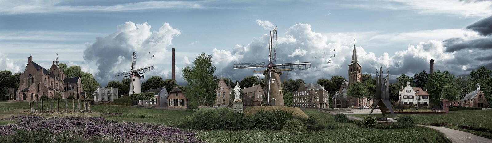 Panorama van Goirle