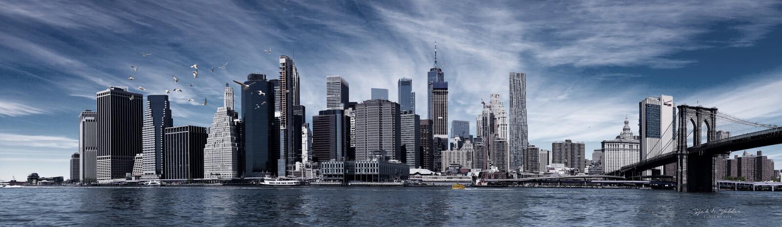 Skyline New York urban