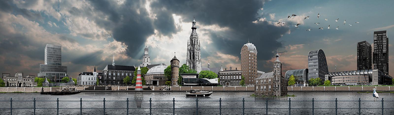 Skyline Breda Realistisch