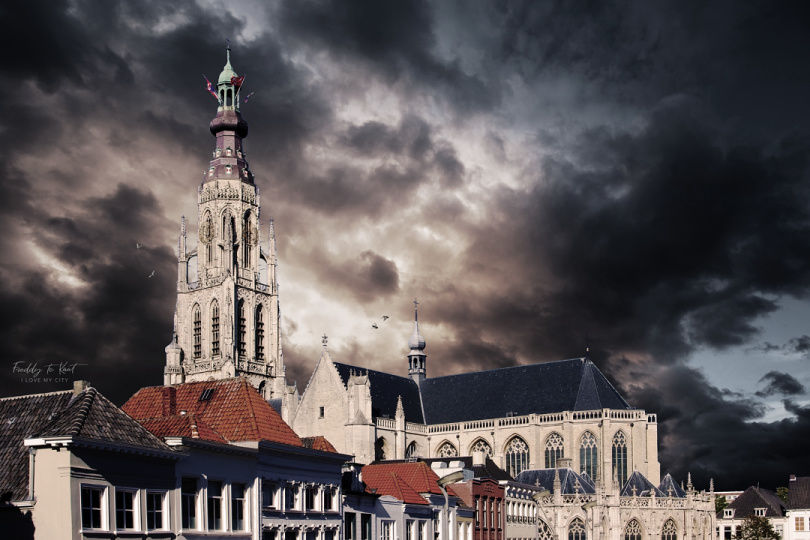 Art Grote Kerk kleur