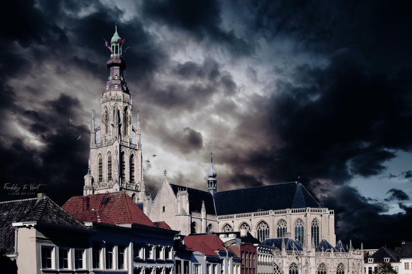 Grote Kerk Breda sober