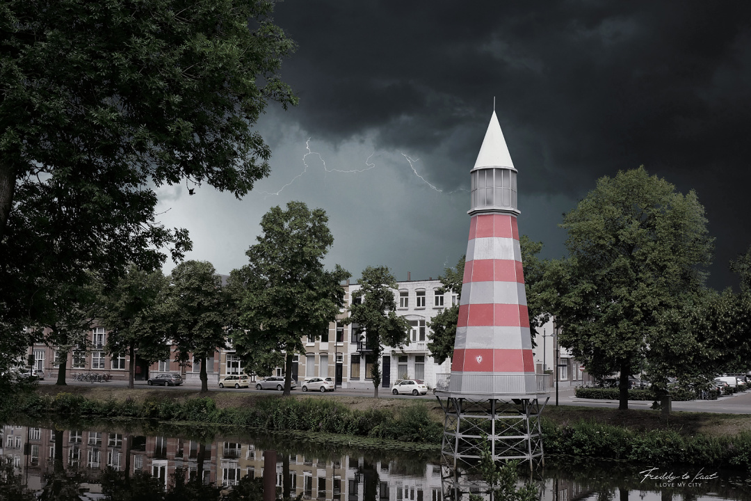 Breda Vuurtoren realistisch