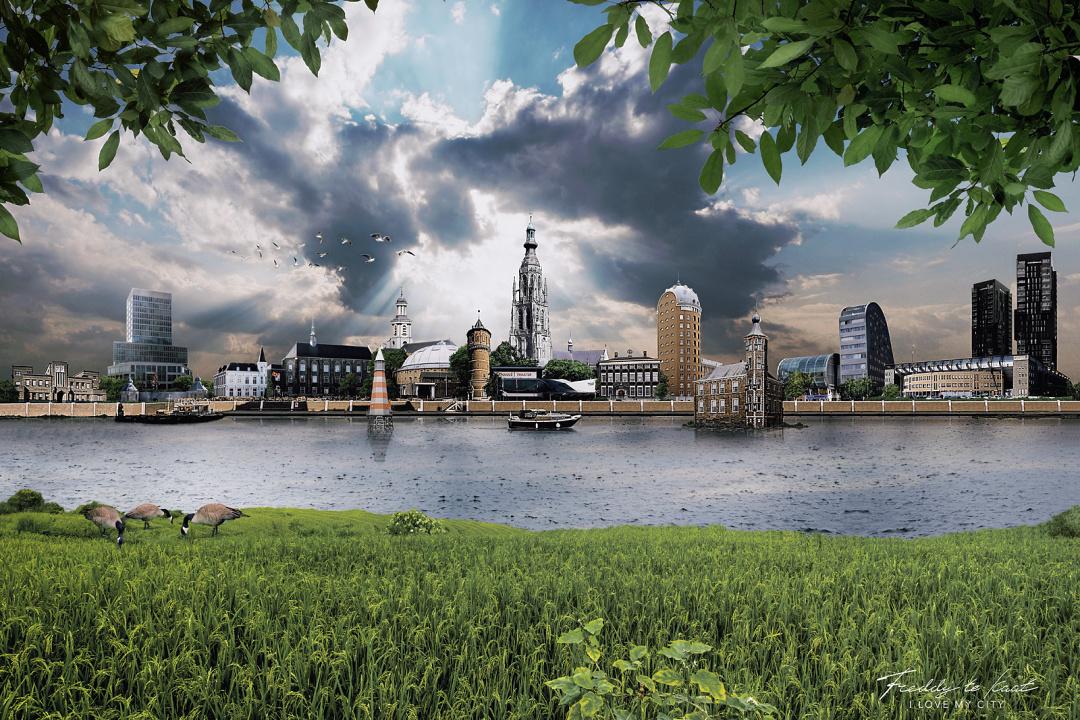 Skyline Breda idyllisch