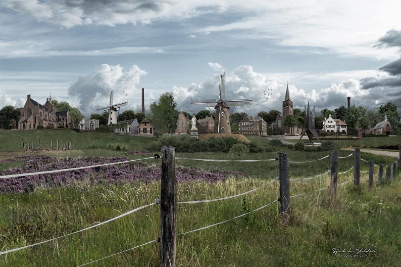 Panorama Goirle realistisch