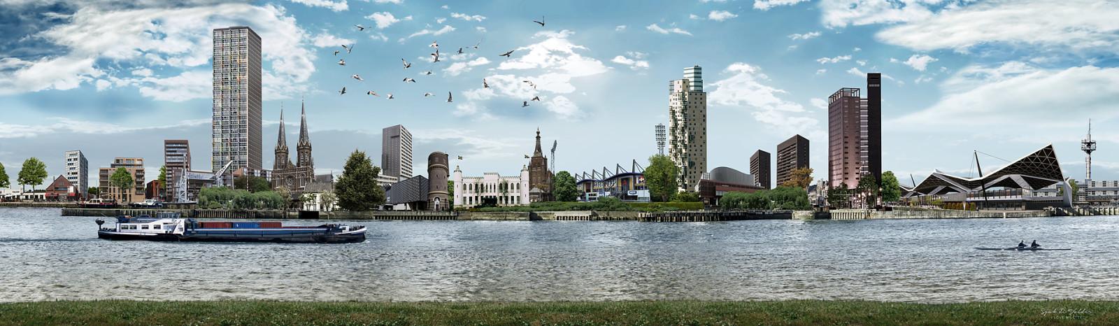 skyline Tilburg Piushaven