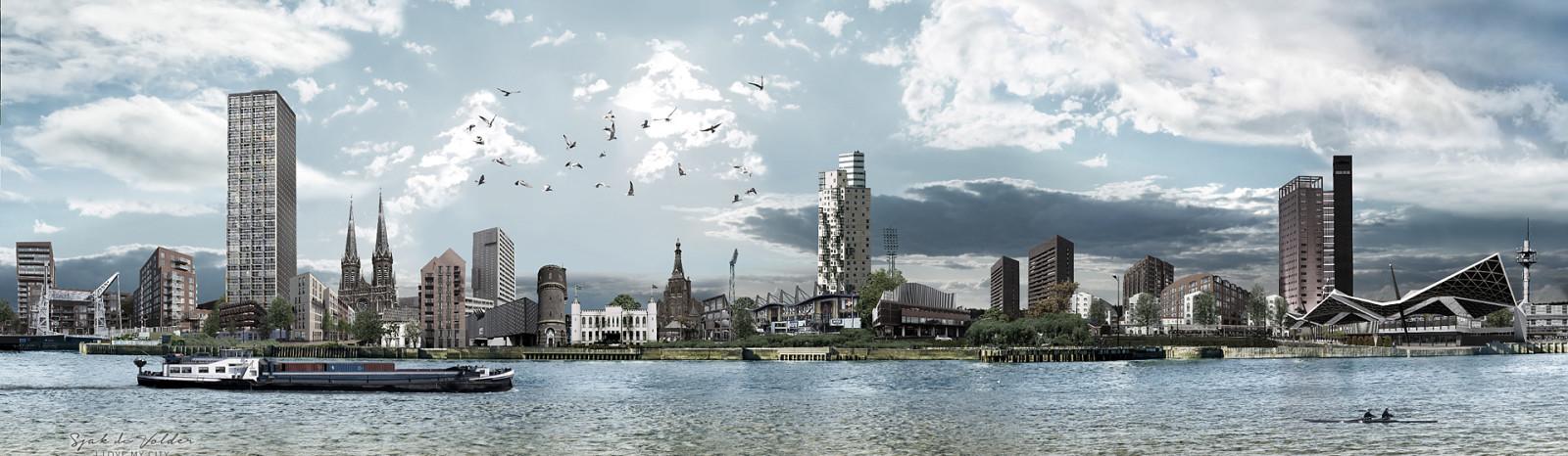 skyline Tilburg Nieuwbouw