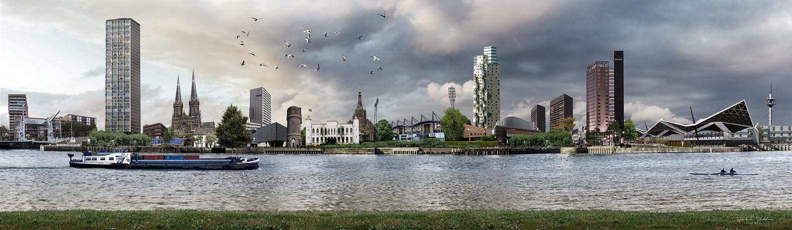 skyline Tilburg Willem II