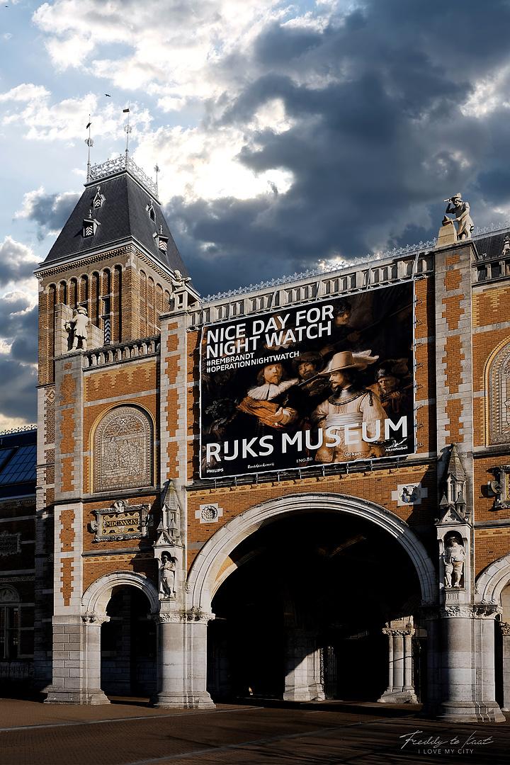 Rijksmuseum kleurrijk