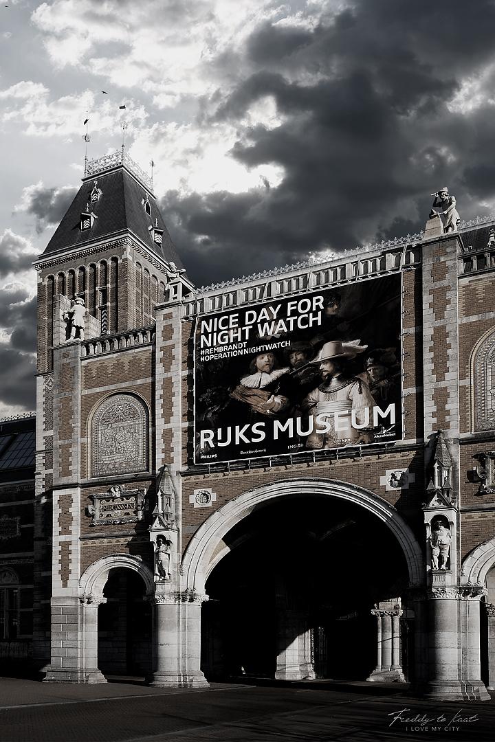 Rijksmuseum urban