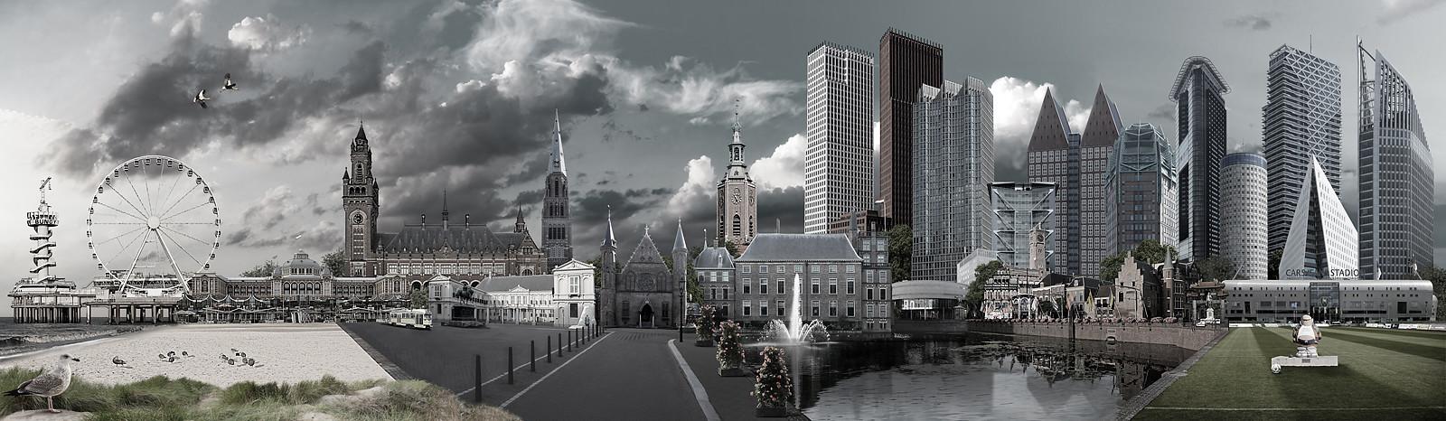 Skyline Den Haag urban versie 1
