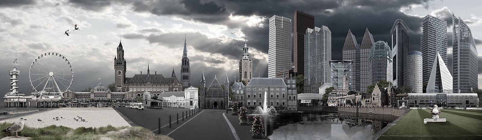 Skyline Den Haag urban versie 2